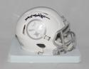 Antonio Brown Autographed Pittsburgh Steelers ICE Mini Helmet- JSA W Auth