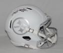Antonio Brown Autographed Pittsburgh Steelers ICE Speed Helmet- JSA W Auth