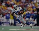 Darren Woodson Autographed *White Dallas Cowboys 16x20 Running Photo- JSA W Auth