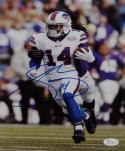 Sammy Watkins Autographed Buffalo Bills 8x10 Running On Field Photo- JSA W Auth