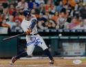 George Springer Autographed Houston Astros 8X10 Batting Photo- JSA W Auth