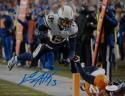 Keenan Allen Autographed 8x10 Chargers Jump Over Photo *Blue JSA Witnessed Auth