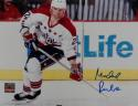 Michael Pivonka Signed Capitals 8x10 White Jersey Photo- Jersey Source Auth