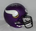 Adrian Peterson Autographed Minnesota Vikings F/S Helmet- Fanatics Authenticated