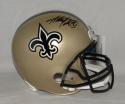 Adrian Peterson Autographed New Orleans Saints F/S Helmet Fanatics Authenticated