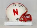Roger Craig #21 Autographed Nebraska Cornhuskers Riddell Mini Helmet- JSA W Auth