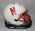 Roger Craig Autographed Nebraska Cornhuskers Schutt Mini Helmet- JSA W Auth