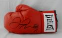 Floyd Mayweather Autographed Red Everlast Boxing Glove - Beckett Auth
