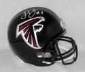 Julio Jones Autographed Black Atlanta Falcons Full Size Helmet- JSA W Auth