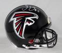 Julio Jones Autographed Atlanta Falcons Full Size ProLine Helmet- JSA W Auth