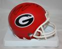 A.J. Green Autographed Georgia Bulldogs Riddell Mini Helmet- JSA Witnessed Auth