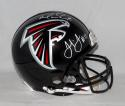 Julio Jones Matt Ryan Autographed Atlanta Falcons F/S ProLine Helmet- JSA W Auth