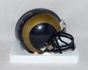 Aaron Donald Autographed *Silver St. Louis Rams Mini Helmet- JSA W Authenticated