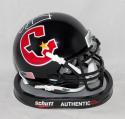 Jim Kelly Autographed *White Houston Gamblers Mini Helmet- JSA W Auth