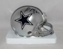 Russell Maryland Autographed *Black Dallas Cowboys Mini Helmet- JSA W Auth