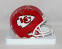 Christian Okoye Autographed *Silver Kansas City Chiefs Mini Helmet- JSA W Auth