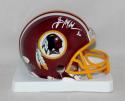 Brian Mitchell Autographed *White Washington Redskins Mini Helmet- JSA W Auth