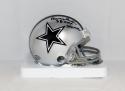 Barry Switzer Autographed Dallas Cowboys Mini Helmet W/ SB Champs- JSA W Auth