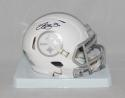 LeVeon Bell Autographed Pittsburgh Steelers ICE Speed Mini Helmet- JSA W Auth