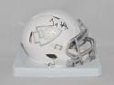 Tyreek Hill Autographed Kansas City Chiefs ICE Speed Mini Helmet- JSA W Auth
