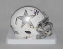 Sean Lee Autographed Dallas Cowboys ICE Speed Mini Helmet- JSA Witnessed Auth