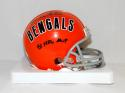 Ken Anderson Signed Cincinnati Bengals TB Mini Helmet W/ NFL MVP- JSA W Auth