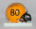 Jack Butler Autographed Pittsburgh Steelers TB Mini Helmet W/ HOF- JSA W Auth