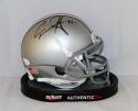 Carlos Hyde Autographed Ohio State Buckeyes Schutt Mini Helmet- JSA W Auth
