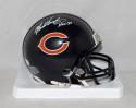 Mike Singletary Autographed *White Chicago Bears Mini Helmet W/ HOF- JSA W Auth