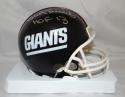 Bill Parcells Autographed New York Giants TB Mini Helmet W/ HOF- JSA W Auth