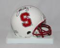 John Elway Autographed Stanford Cardinals Riddell Mini Helmet- JSA Authenticated