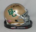 Corey Coleman Autographed Baylor Bears Gold Schutt Mini Helmet- JSA W Auth
