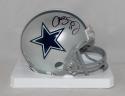 Cole Beasley Autographed Dallas Cowboys Mini Helmet- Fanatics Authenticated