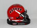 Marshall Faulk Autographed *Silver San Diego Aztecs 1993 Mini Helmet- JSA W Auth