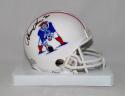 Irving Fryar Autographed New England Patriots 1982 TB Mini Helmet- SGC Auth