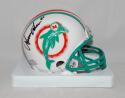 Irving Fryar Autographed Miami Dolphins 1980 TB Mini Helmet- SGC Auth