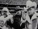Earl Campbell HOF Signed Houston Oilers 16x20 W/ Bum Phillips *Silver Photo JSA W Auth