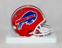Thurman Thomas Autographed Buffalo Bills Mini Helmet with JSA W Auth