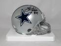Herschel Walker Autographed Dallas Cowboys Mini Helmet with JSA W Auth