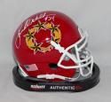 Herschel Walker Autographed New Jersey Generals Mini Helmet with JSA W Auth