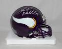 Herschel Walker Autographed Minn Vikings Mini Helmet with JSA W Auth