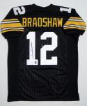 Terry Bradshaw Signed / Autographed Black Jersey- JSA W Authenticated