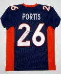 Clinton Portis Signed / Autographed Blue Jersey - JSA W Authenticated