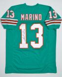 Dan Marino Signed / Autographed Teal Jersey - JSA W Authenticated