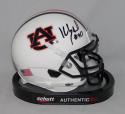 Kevin Greene Signed Auburn Tigers Schutt Mini Helmet - JSA W Auth