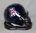 Brooks Reed Signed Arizona Wildcats Schutt Mini Helmet *Silver*- JSA W Auth