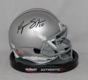 Ryan Shazier Signed Ohio State Buckeyes Schutt Mini Helmet *Black*- JSA W Auth