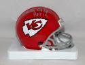 Curley Culp Autographed *Silver* Kansas City Chiefs 63-73 Mini Helmet HOF- JSAW