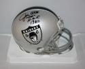 Jim Otto Autographed Oakland Raiders 1963 Mini Helmet  JSA W Auth w/HOF