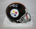 Mel Blount Autographed Pittsburgh Steelers 63-76 Mini Helmet W/ HOF JSAW *white*